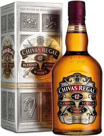 Chivas Regal Scotch 12 Year-Wine Chateau