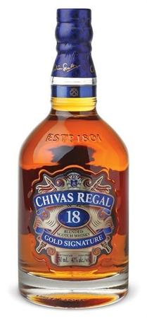 Chivas Regal Scotch 18 Year-Wine Chateau