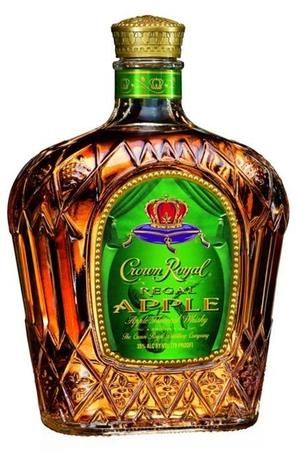 Crown Royal Canadian Whisky Regal Apple-Wine Chateau