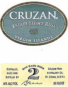 Cruzan Rum Light Aged-Wine Chateau