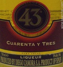 Load image into Gallery viewer, Cuarenta Y Tres Licor 43-Wine Chateau