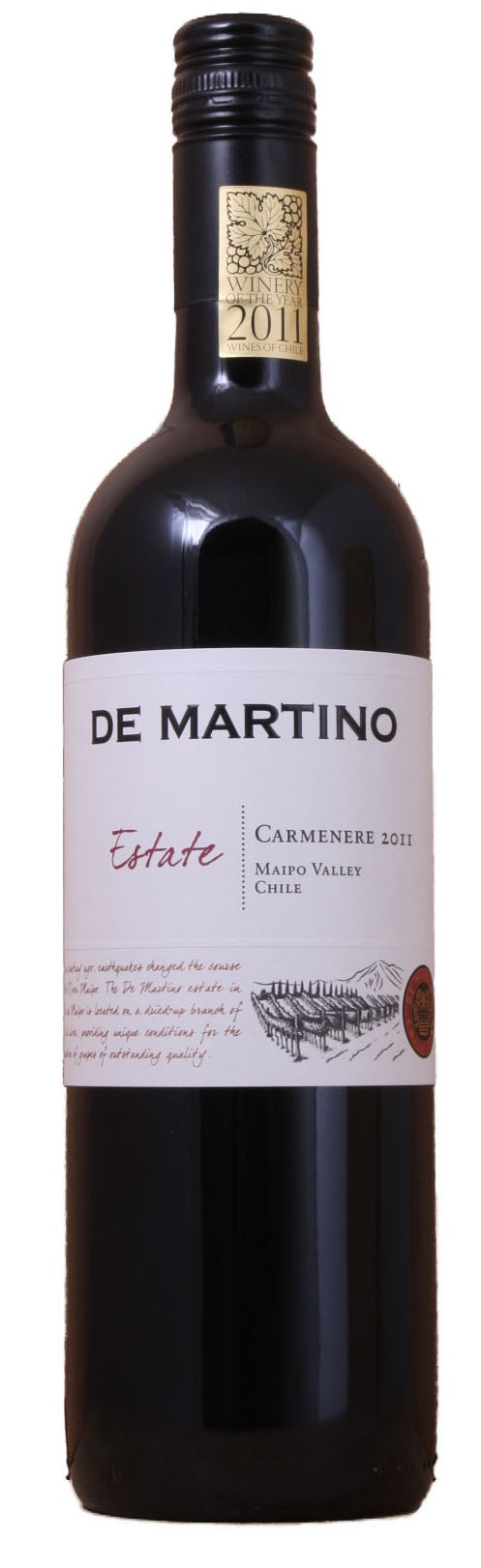 de Martino Carmenere Estate Organic 2017