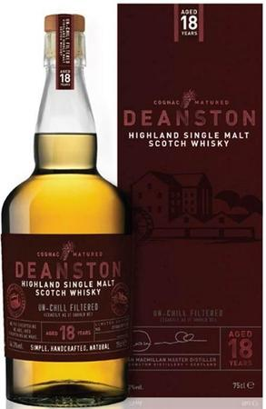 Deanston Scotch Single Malt 18 Year Bourbon Cask Finish