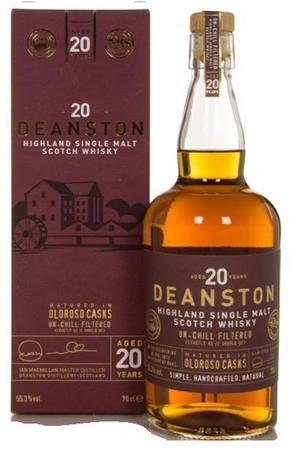 Deanston Scotch Single Malt 20 Year Oloroso Cask Finish-Wine Chateau