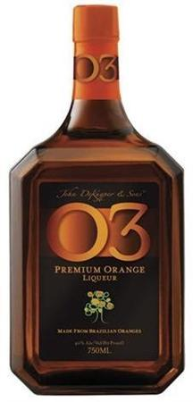 Dekuyper Liqueur O3 Premium Orange