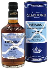 Edradour 12 Year Old Caledonia Selection Sherry Cask