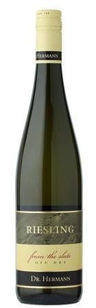 Dr. Hermann Riesling Off Dry From The Slate 2012-Wine Chateau
