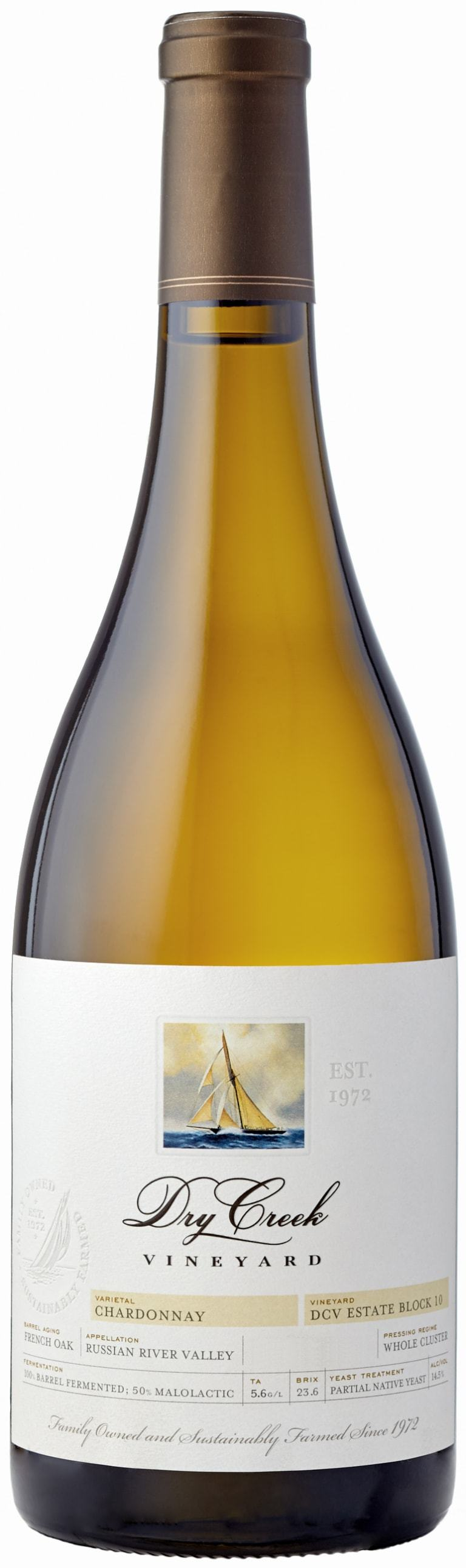 Dry Creek Vineyard Chardonnay Dcv Estate Block 10 2017