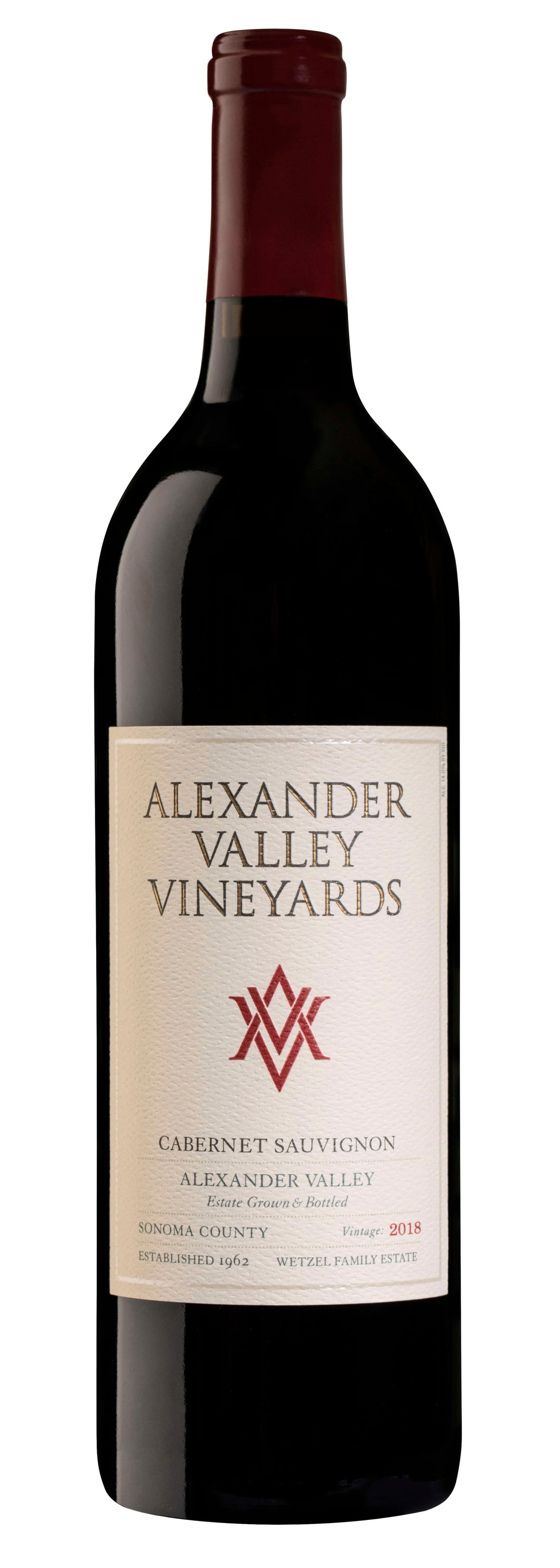 Alexander Valley Vineyards Cabernet Sauvignon 2018