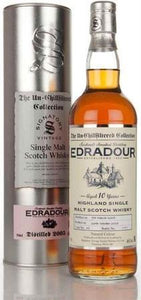 Edradour Scotch Single Malt 10 Year Unchillfiltered Bottled By Signatory 2002-Wine Chateau