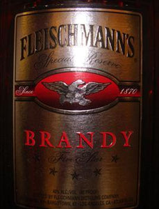 Fleischmann's Brandy Five Star-Wine Chateau