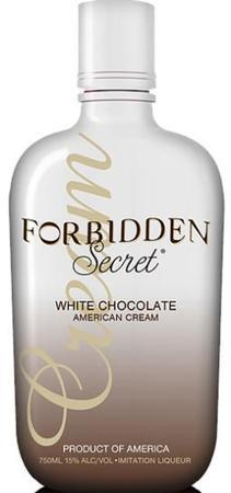 Forbidden Secret White Chocolate Cream-Wine Chateau