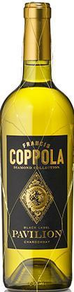 Francis Ford Coppola Diamond Collection Chardonnay Pavilion Black Label 2016
