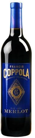Francis Ford Coppola Diamond Collection Malbec Celestial Blue Label 2015