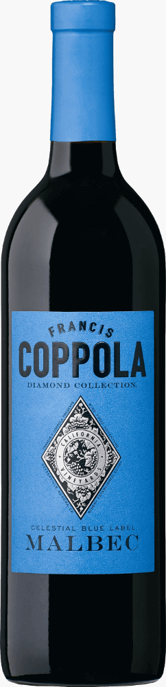 Francis Ford Coppola Diamond Collection Malbec Celestial Blue Label 2017