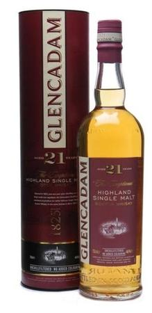 Glencadam Scotch Single Malt 21 Year