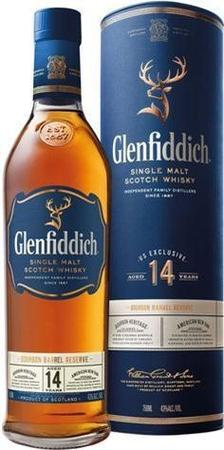 Glenfiddich Scotch Single Malt 14 Year Bourbon Barrel Reserve