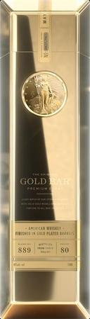 Gold Bar Whiskey Gold Finished