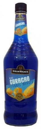 Hiram Walker Liqueur Blue Curacao-Wine Chateau