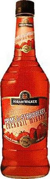 Hiram Walker Liqueur Creme de Strawberry-Wine Chateau