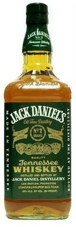 Jack Daniel's Whiskey Green Label-Wine Chateau