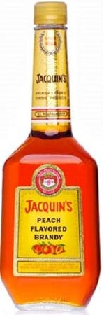 Jacquin's Brandy Peach-Wine Chateau