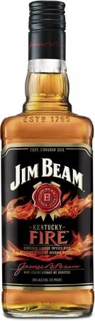 Jim Beam Bourbon Kentucky Fire-Wine Chateau