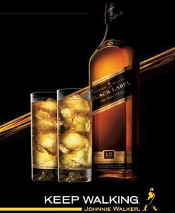 Johnnie Walker Scotch Black Label 12 Year-Wine Chateau