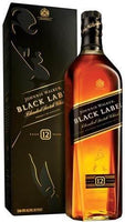 Johnnie Walker Scotch Black Label 12 Year (Liters Free Shipping)
