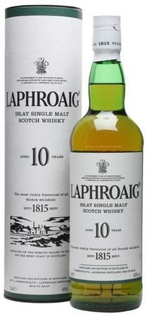 Laphroaig Scotch Single Malt 10 Year-Wine Chateau