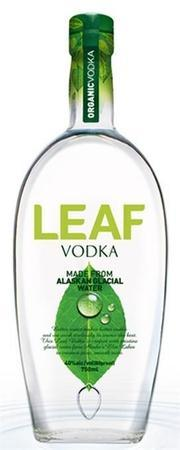 Leaf Vodka Alaskan Glacial Water