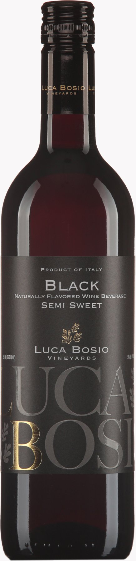 Luca Bosio Black Semi Sweet