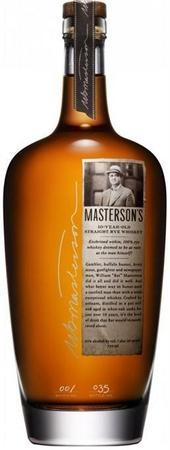Masterson's Rye Whiskey 10 Year-Wine Chateau