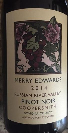 Merry Edwards Pinot Noir Coopersmith 2014