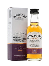 Load image into Gallery viewer, Bowmore Scotch Single Malt 18 Year