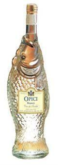 Opici Bianco Fish Bottle-Wine Chateau