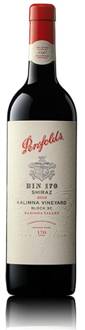 Penfolds Shiraz Bin 170 Kalimna Vineyard Block 3C 2010