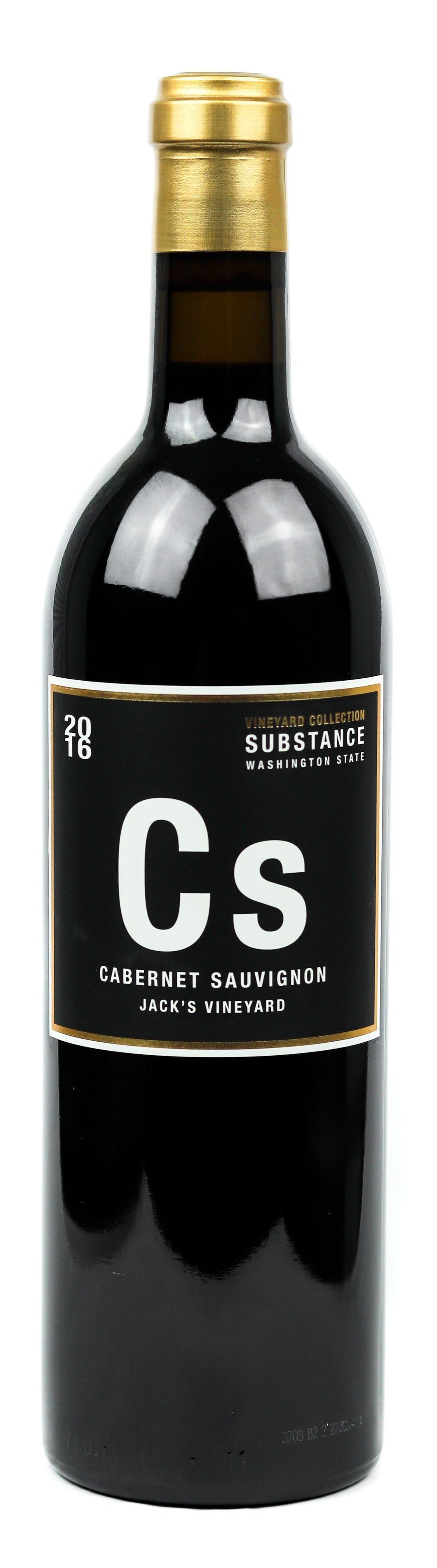 Super Substance Cabernet Sauvignon Jack's Vineyard 2016