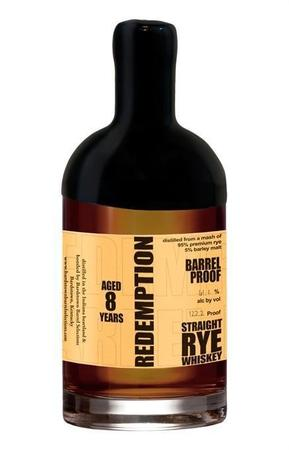 Redemption Bourbon High-Rye Barrel Proof-Wine Chateau