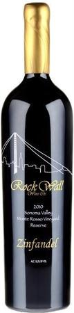Rock Wall Zinfandel Reserve Monte Rosso Vineyard 2010