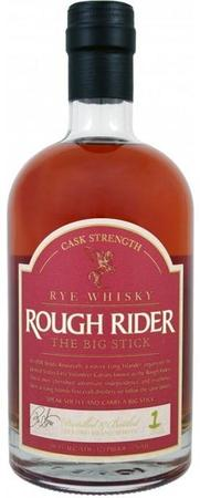 Rough Rider Rye Whisky Cask Strength The Big Stick