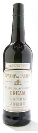 Savory & James Cream Sherry-Wine Chateau
