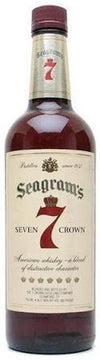 Seagram's 7 Crown Blended Whiskey-Wine Chateau