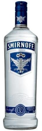 Smirnoff Vodka Blue No. 57 1-Wine Chateau