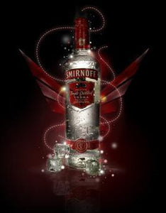 Smirnoff Vodka Silver-Wine Chateau