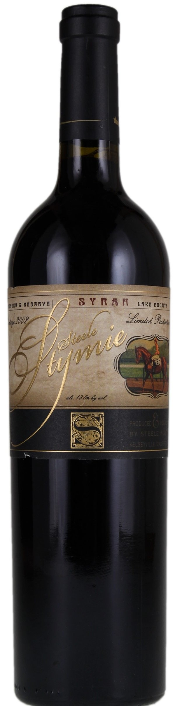 Steele Stymie Syrah Founder's Reserve 2012