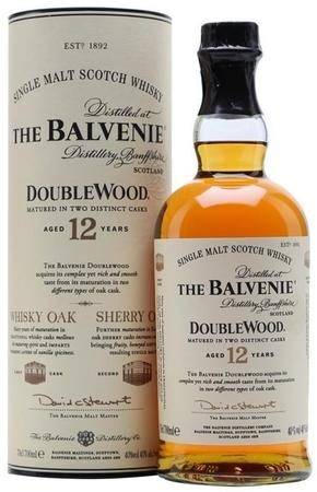 The Balvenie Scotch Single Malt 12 Year Doublewood(Free Shipping on 4 bottles or more)