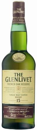 The Glenlivet Scotch Single Malt 15 Year French Oak Reserve