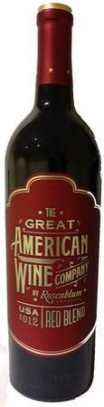 The Great American Wine Company Red Blend-Wine Chateau