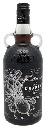 The Kraken Rum Black Spiced 70 Proof-Wine Chateau